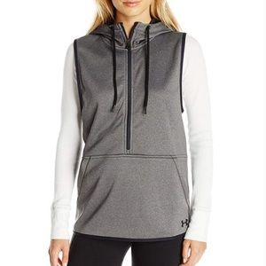 Under Armour Women's Storm Hooded Gray Vest small